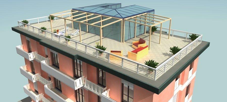 Lastrico solare e terrazza differenze e responsabilit - Casa in legno su lastrico solare ...